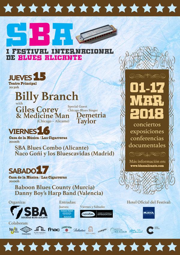 Alicante recupera su Festival Internacional de Blues después de 30 años en MÚSICA