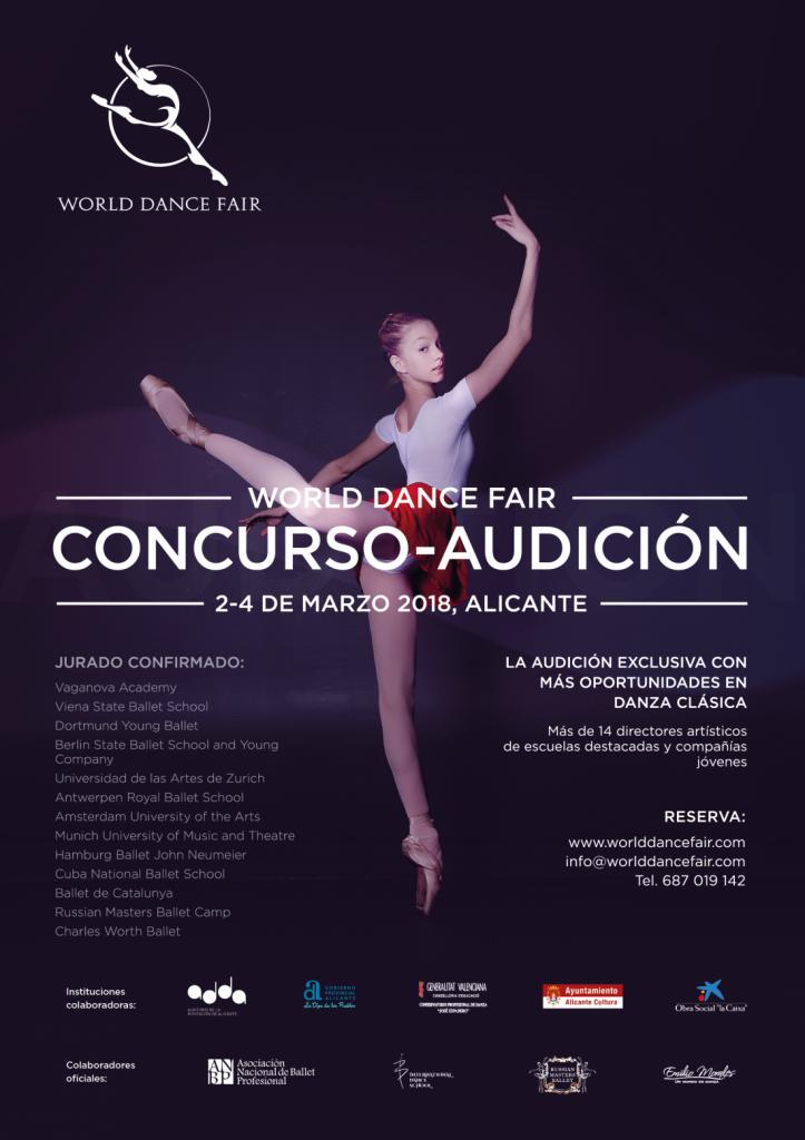 'World Dance Fair', una oportunidad única para dar el salto a la danza profesional en ESCENA