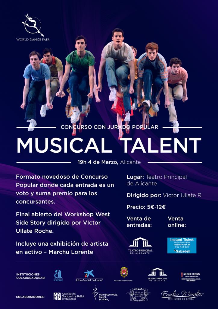 Víctor Ullate impartirá en Alicante un curso de preparación al casting de West Side Story en ESCENA