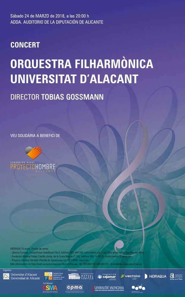 La OFUA lleva sus Conciertos de Primavera a Villajoyosa, Alicante y Crevillente en MÚSICA