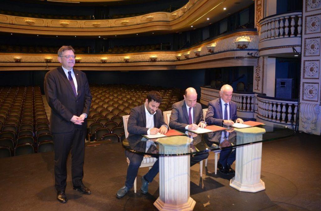 El Teatro Principal recibe un balón de oxígeno de la Generalitat Valenciana en ESCENA