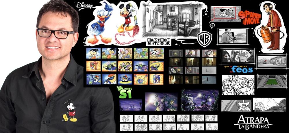 Paco Sáez imparte una masterclass de ilustración y storyboard en Alicante en ARTE