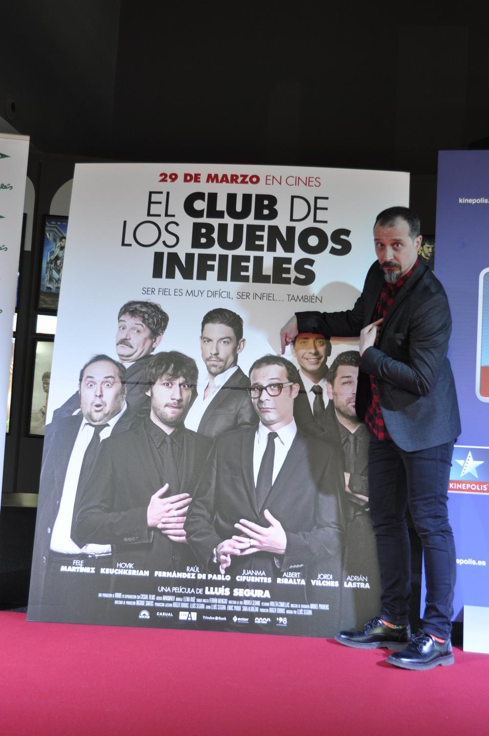 """Fele Martínez: """"Es muy catártico sacar a la Meg Ryan que todos tenemos dentro"""" en CINE"""