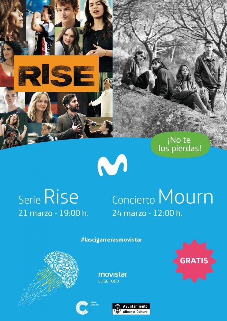 Movistar proyecta la nueva serie 'Rise' en Las Cigarreras en CINE