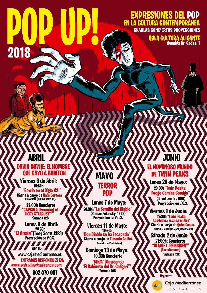 Cine, series, música y conferencias revisan el impacto del pop en la cultura contemporánea en CINE CONFERENCIAS MÚSICA