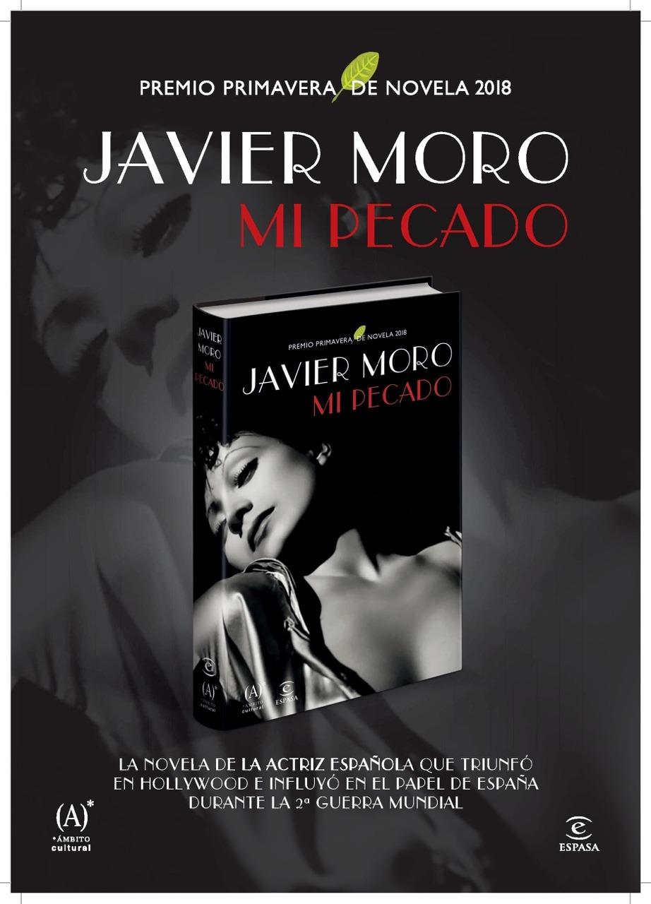 Javier Moro presenta la historia de Conchita Montenegro, la actriz española que triunfó en el Hollywood de los años 30 en DESTACADOS LETRAS