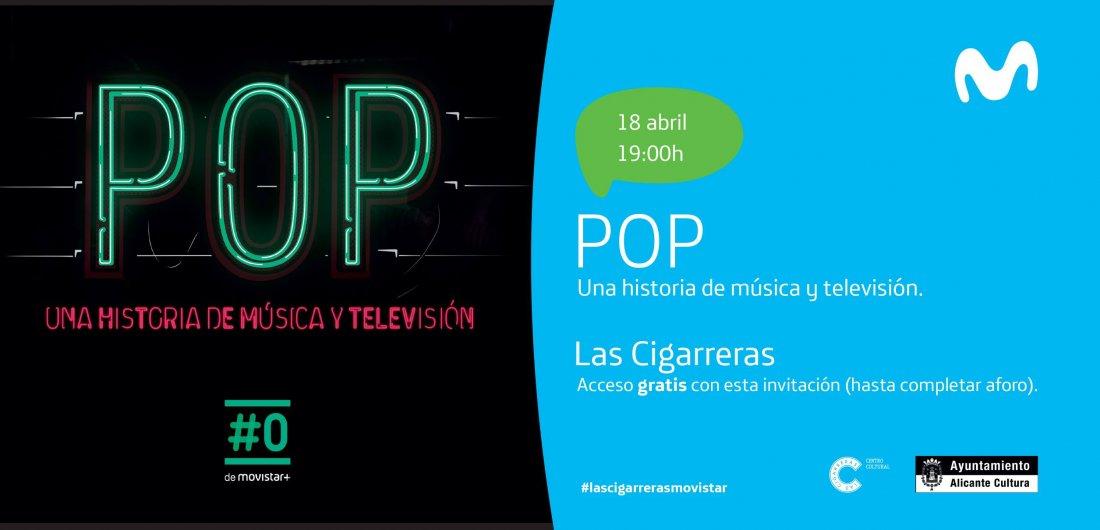 'Pop, una historia de Música y Televisión', un repaso a esta industria en Las Cigarreras en CINE MÚSICA