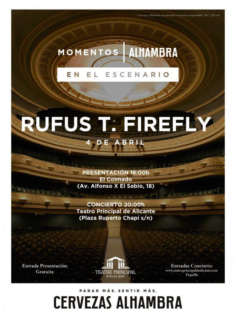 El público comparte escenario con Rufus T. Firefly en el Principal en MÚSICA