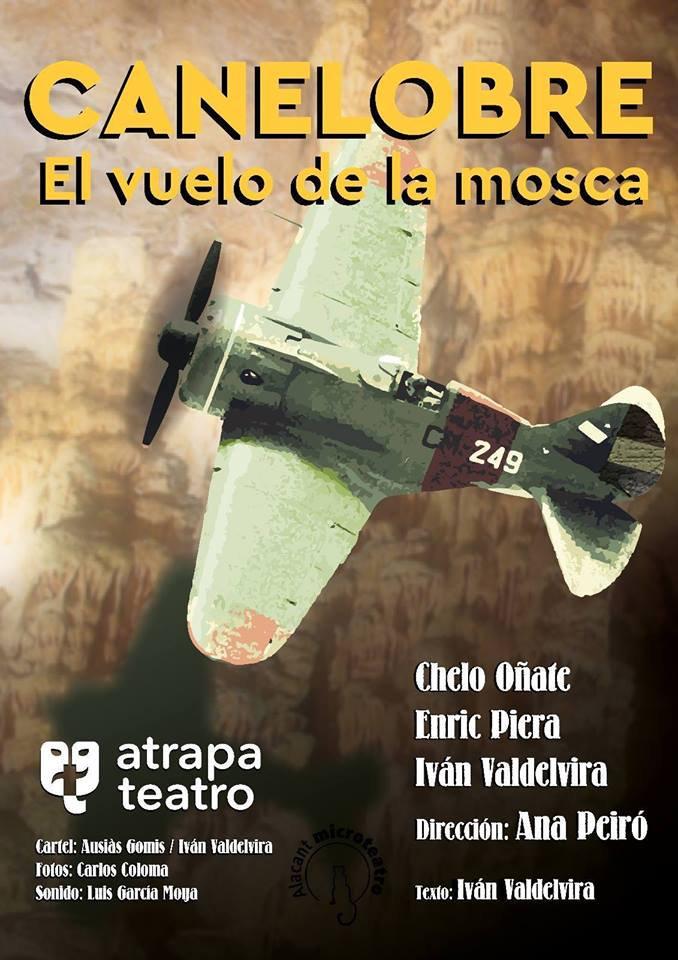 Atrapa Teatro pone en escena 'El vuelo de la mosca', una obra sobre la amistad durante la guerra en ESCENA