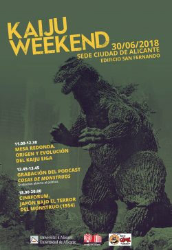 La UA dedica una jornada al Kaiju Eiga, cine de monstruos japoneses gigantes en CINE