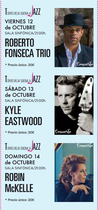 """Roberto Fonseca, Kyle Eastwood y Robin McKelle inauguran el ciclo """"Torrevieja Suena a Jazz"""" del Auditorio de Torrevieja en ESCENA MÚSICA"""