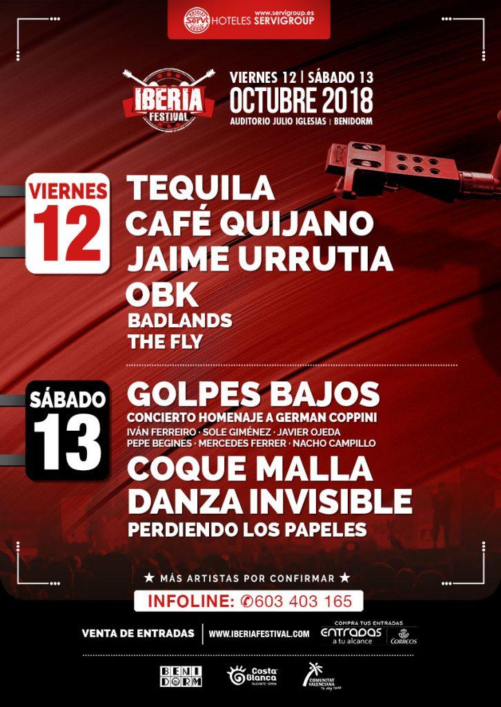 Lo más granado del pop rock nacional se vuelve a dar cita en el Iberia Festival en MÚSICA