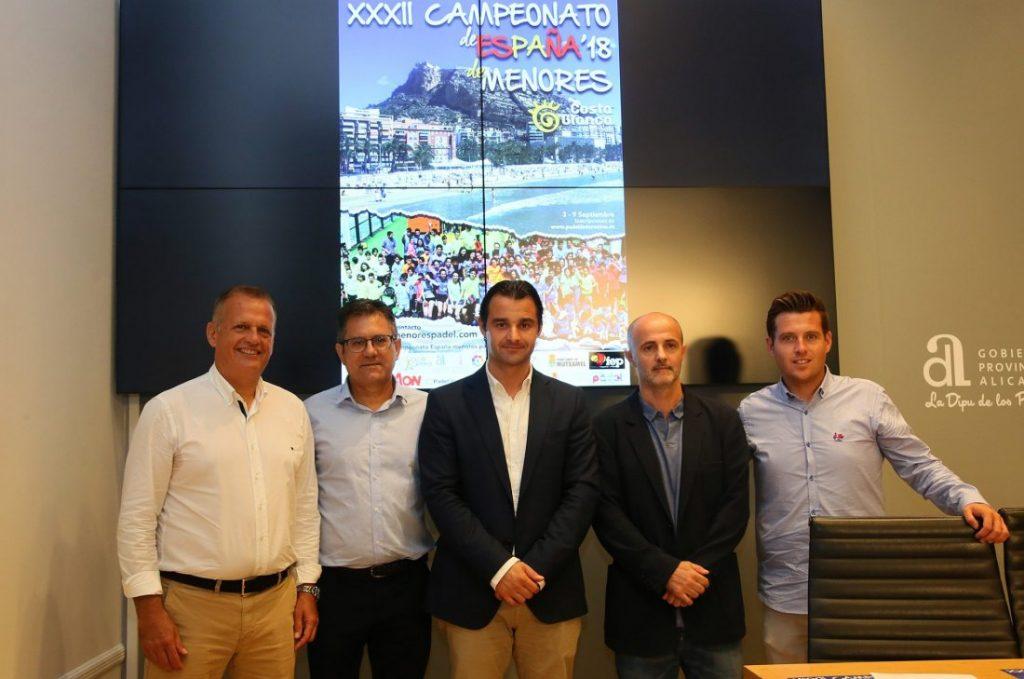 Alicante acogerá en septiembre el Campeonato de España de Pádel de Menores en DEPORTE