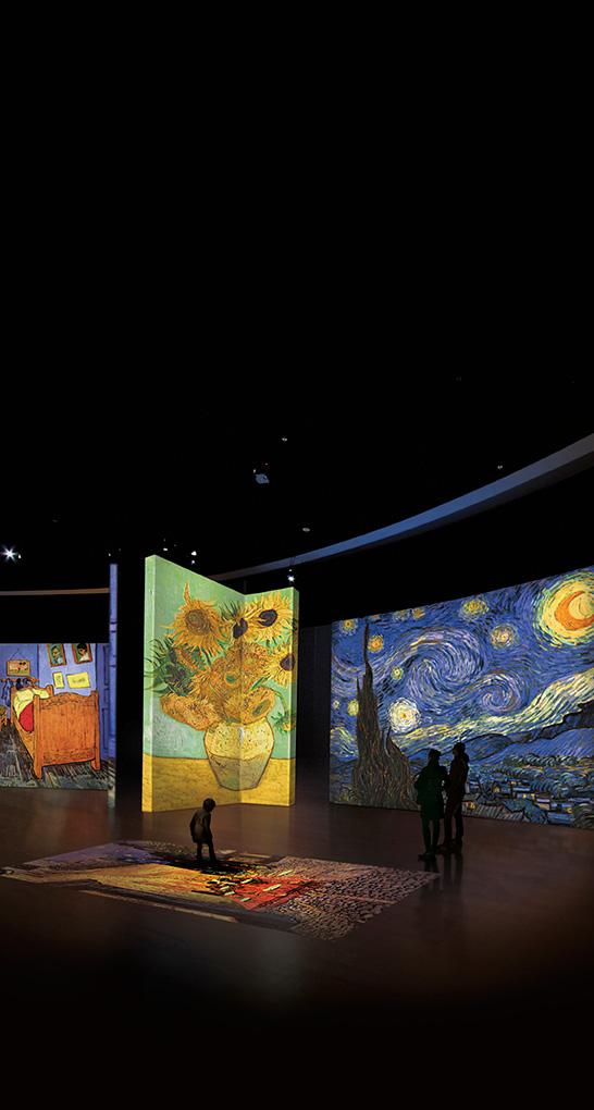 Una sorprendente exposición multimedia se adentra en el universo Van Gogh en PINTURA