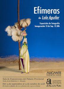Alicante Fashion Week arranca con una singular muestra sobre la moda efímera en FOTOGRAFIA MODA