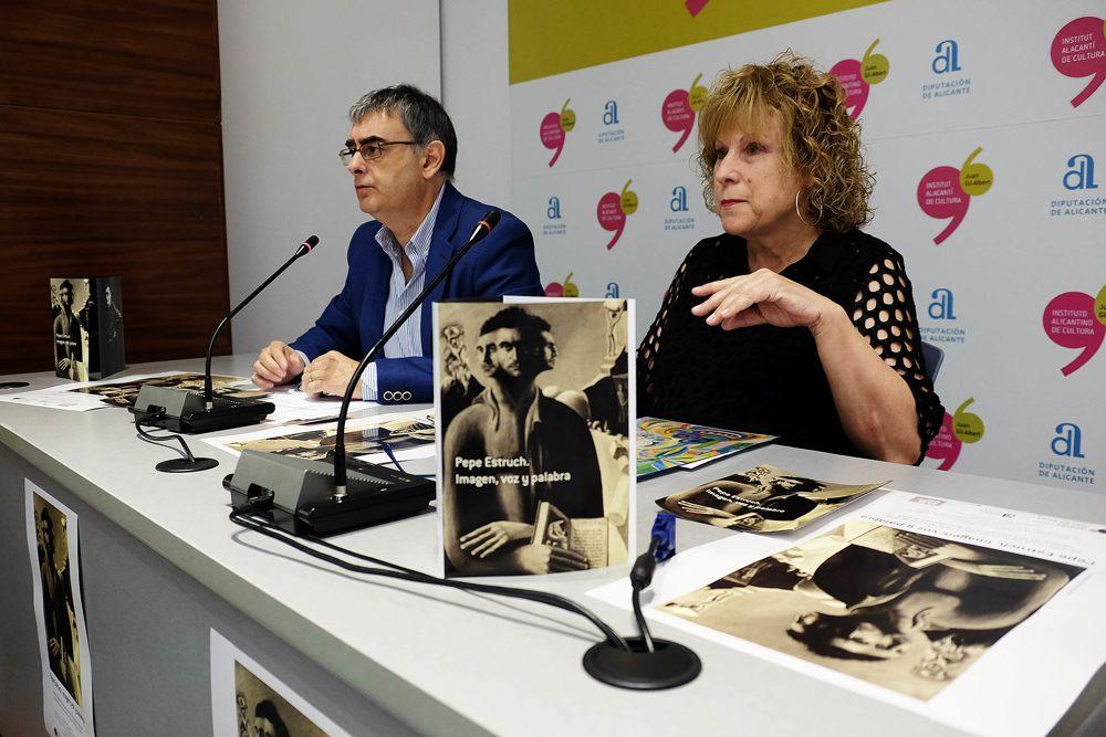 El Gil-Albert expone materiales inéditos del dramaturgo José Estruch en ESCENA