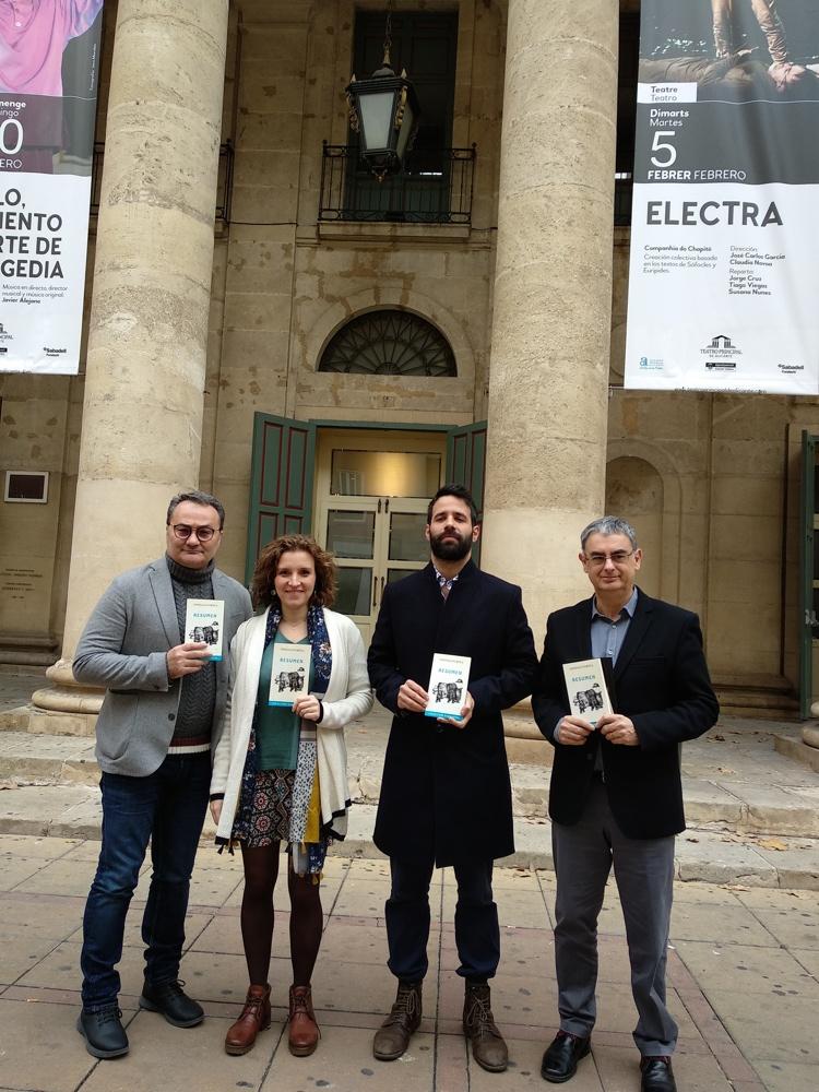La compañía Armónico Impar obtiene la II Residencia José Estruch de Teatro en ESCENA