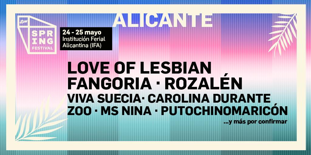 Rozalén, nueva confirmación del Spring Festival 2019 en MÚSICA