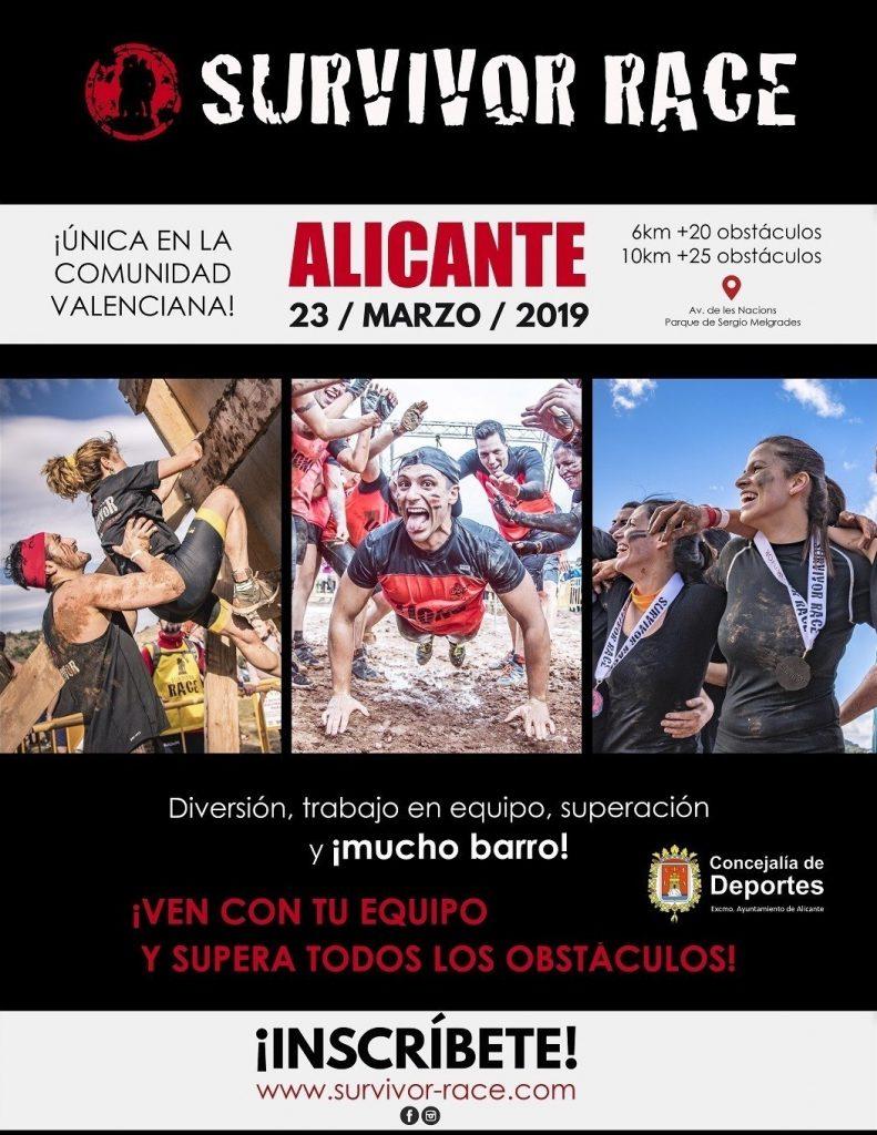 La Survivor Race Alicante promete barro, obstáculos y diversión el 23 de marzo en DEPORTE