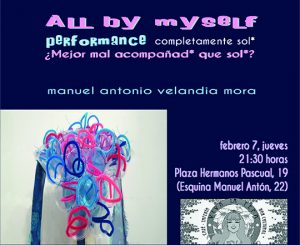 Viva la Pepa presenta la performance 'All by myself / Completamente solo' en ESCENA