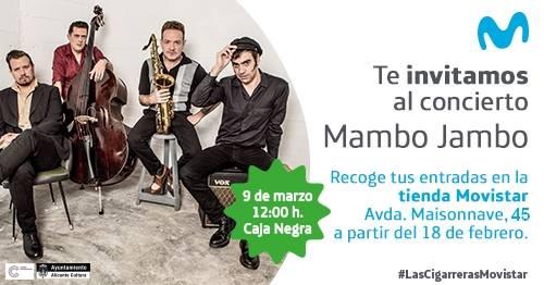Sesión Movistar+: Concierto de Los Mambo Jambo en Las Cigarreras en MÚSICA