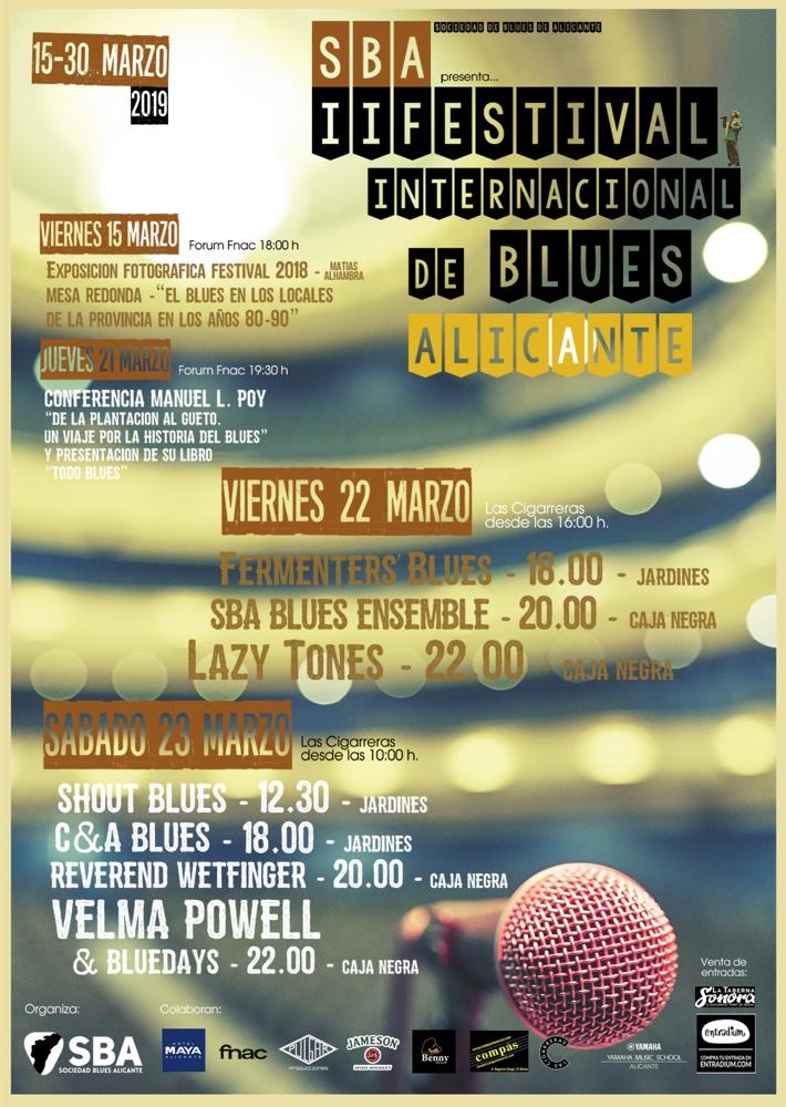 El Festival de Blues de Alicante celebra su segunda edición con grandes figuras del R&B en MÚSICA