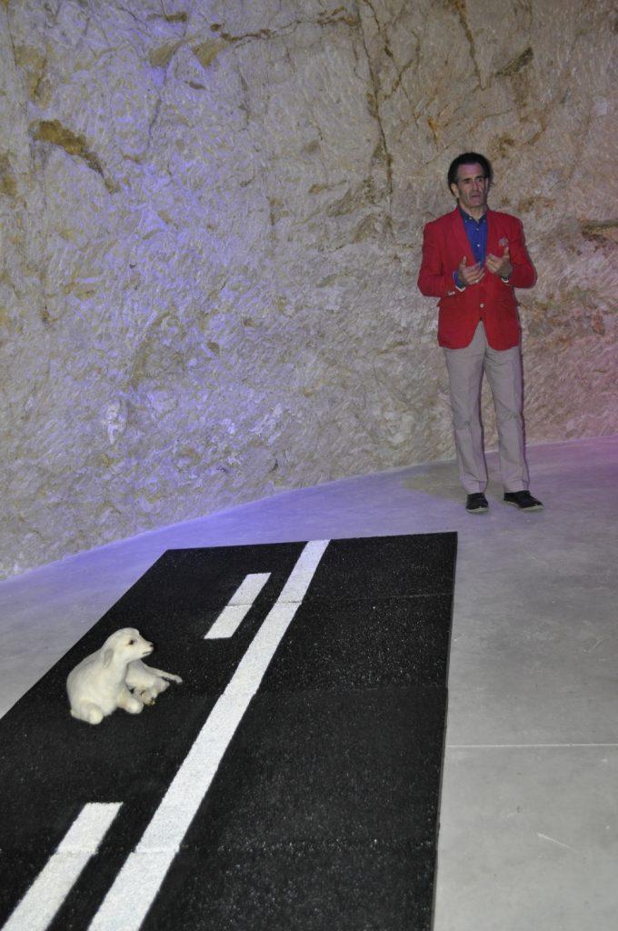 Aguas de Alicante inaugura el ciclo 'Arte y Medio Ambiente' con una instalación de José Ángel Uberuaga en ARTE ESCULTURA MEDIO AMBIENTE