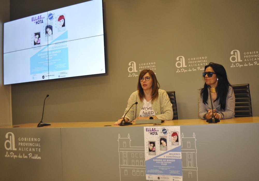 Cristina del Valle, Estela de María y Esmeralda Garo dan la nota por las mujeres en MÚSICA