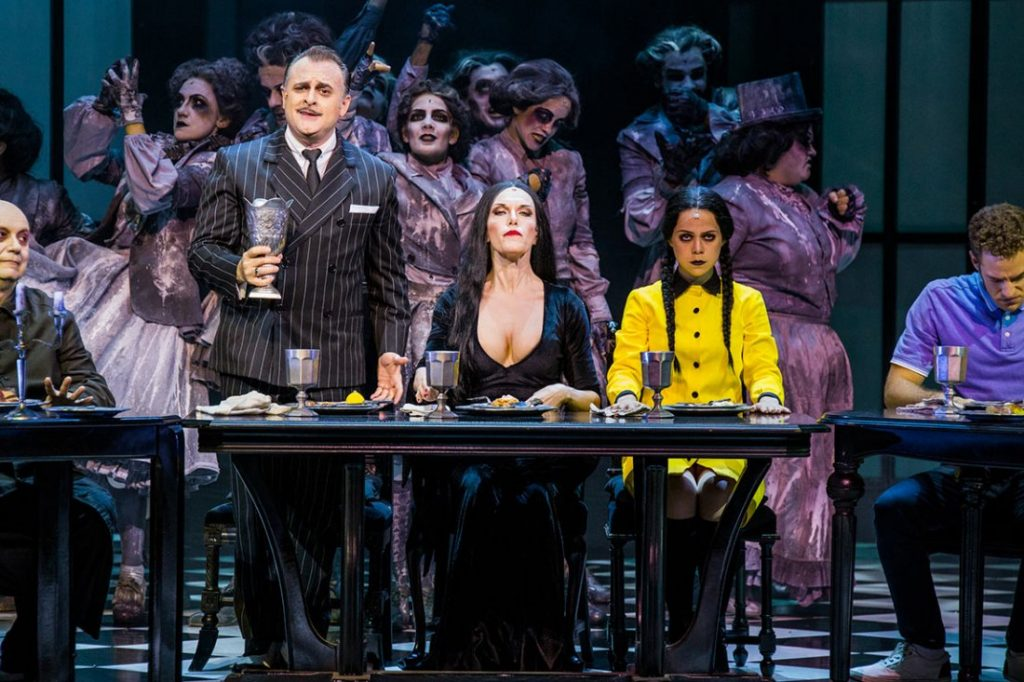 El humor de la Familia Addams llega al Teatro Principal de Alicante en ESCENA