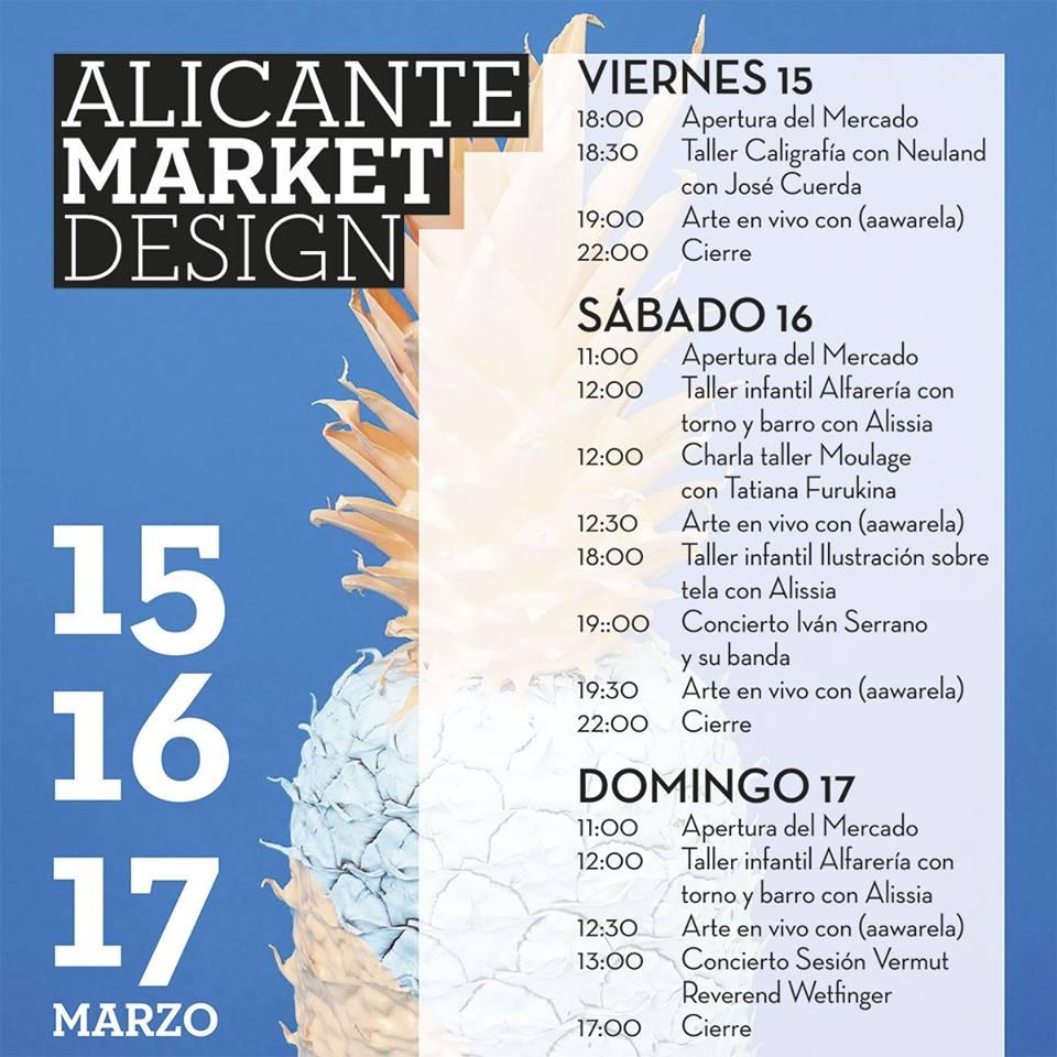 El Mercado de Diseño llena de creatividad la Plaza de Séneca del 15 al 17 de marzo en ARTE