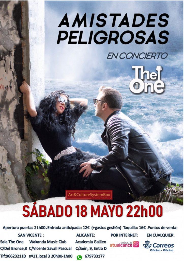 Amistades Peligrosas presentará en Alicante su nuevo disco 'Pacto de Sal' en MÚSICA