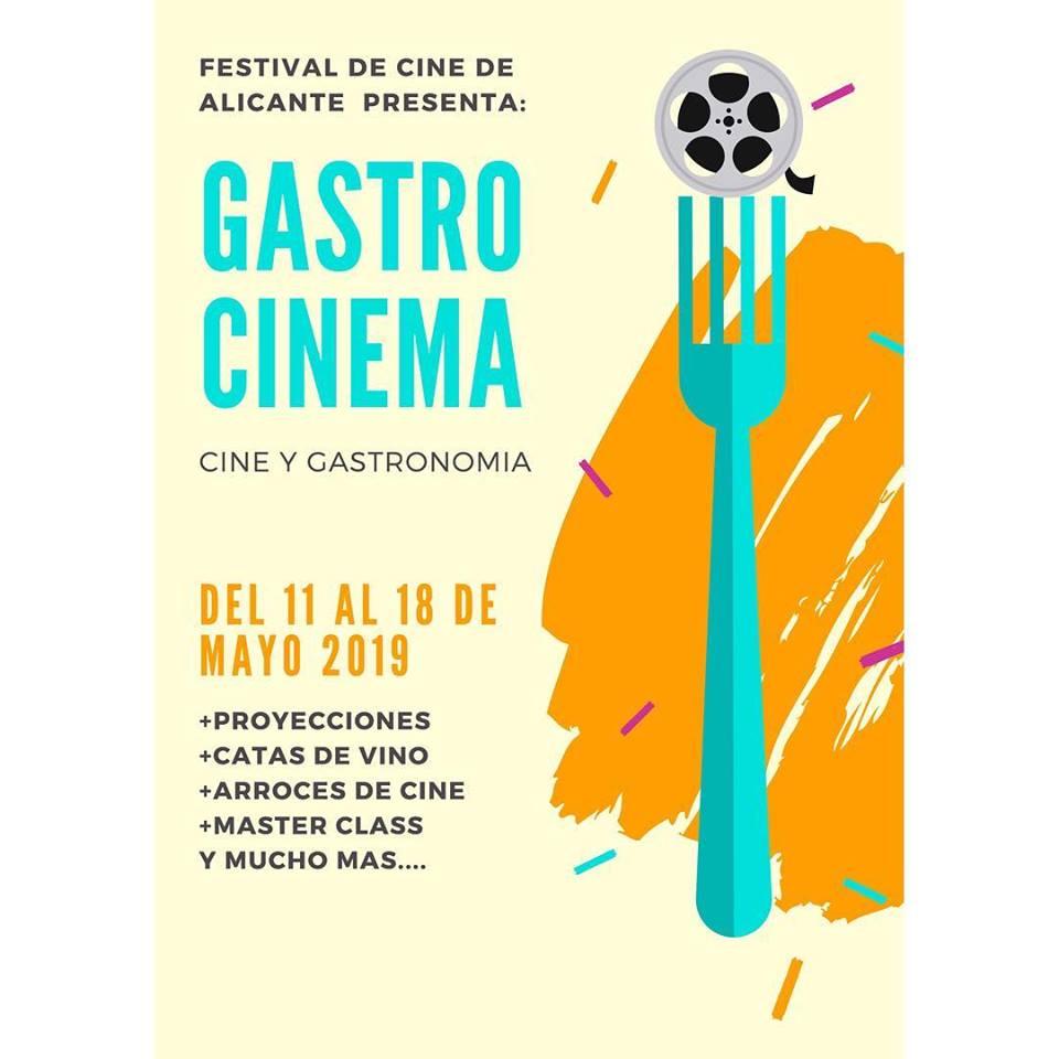 El chef Kiko Moya recibe el I Premio Gastro Cinema del Festival de Cine de Alicante en CINE GASTRONOMÍA