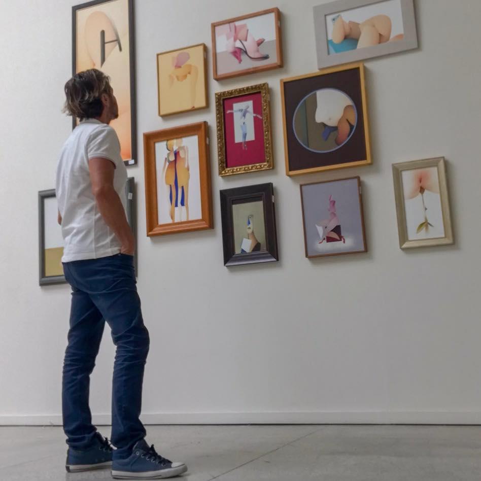 """LABAD presenta en la Fundación Frax su """"Otra pintura"""" en PINTURA"""