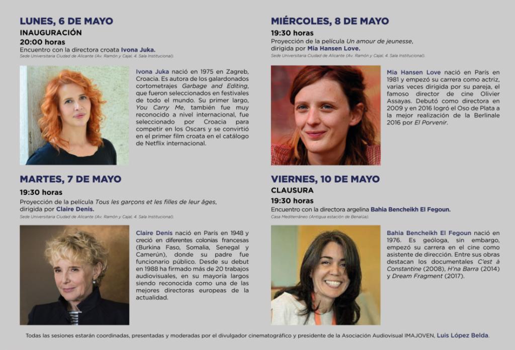 Casa Mediterráneo organiza la II Semana de Directoras Mediterráneas de Cine en CINE