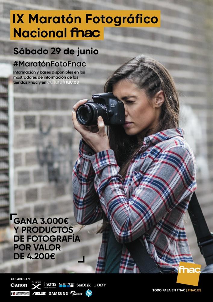 La Fnac convoca su IX Maratón Fotográfico Nacional el 29 de junio en FOTOGRAFIA
