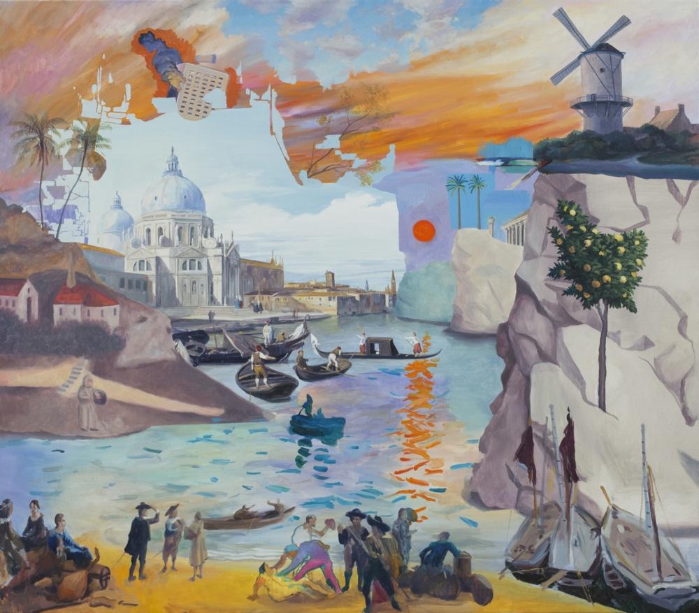 El Gil-Albert acoge la obra de José Antonio Hinojos dentro del ciclo 'Arte en la Casa Bardín' en PINTURA