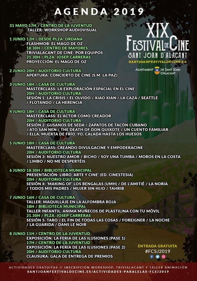 El XIX Festival de Cine de Sant Joan d'Alacant otorgará el Ficus Honorífico a Manuel Galiana en CINE