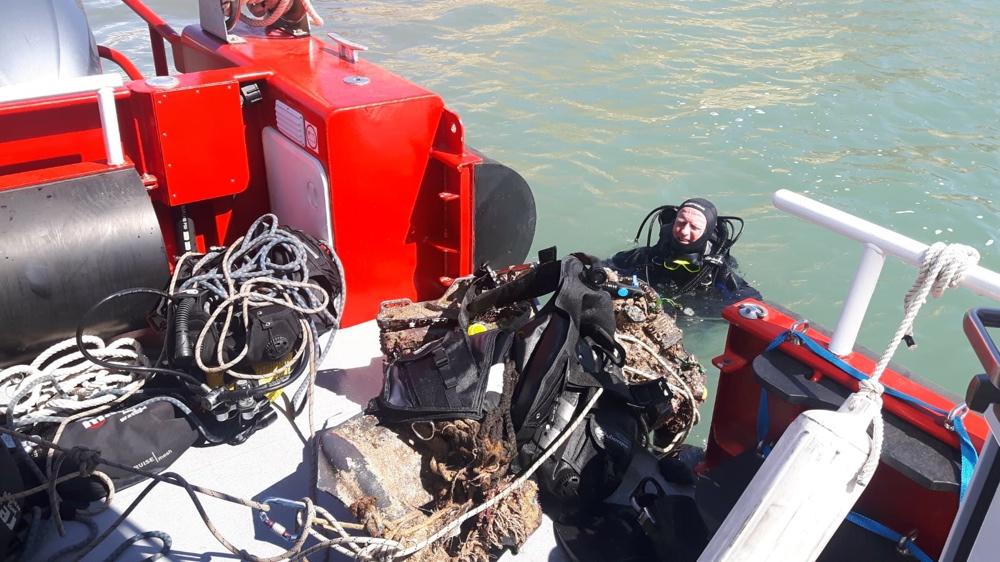 """""""Sin Plásticos, Más Mediterráneo"""", 700 kilos de residuos recogidos del fondo marino alicantino en MEDIO AMBIENTE"""