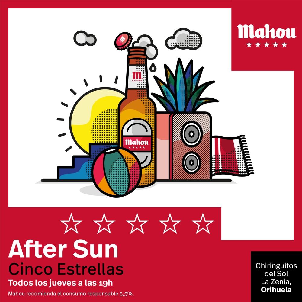 """Los madrileños The Parrots, próxima actuación en """"After Sun Cinco Estrellas"""" de Mahou en La Zenia en MÚSICA"""