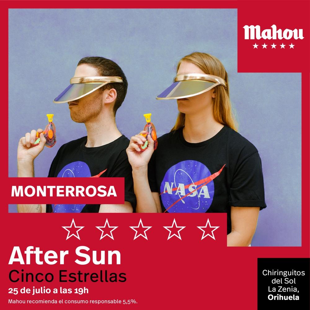 Polock, The Parrots y Dj Monterrosa protagonizan el 'After Sun Cinco Estrellas' de Mahou en la Playa de La Zenia en MÚSICA