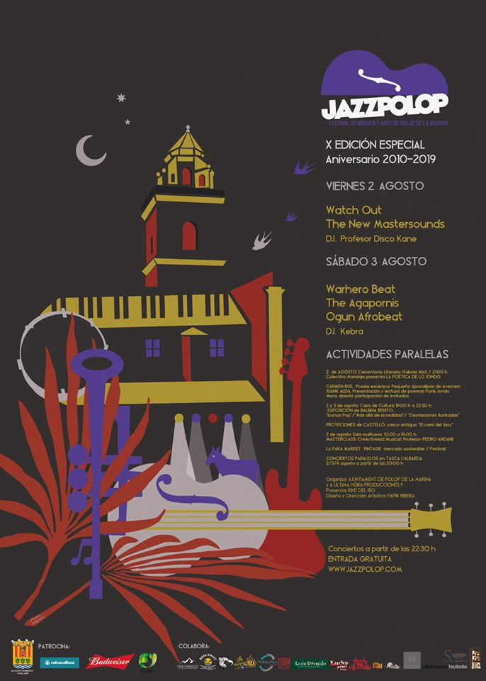 Funk, groove y afrobeat agitan la décima edición de Jazz Polop en MÚSICA