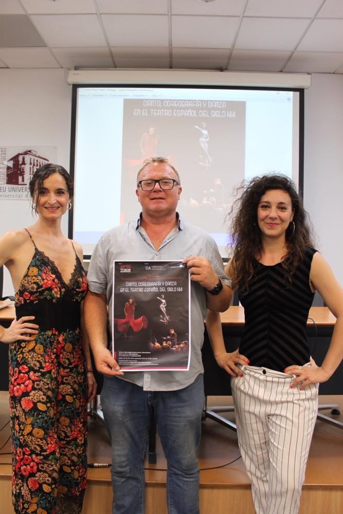 Canto, danza y largometraje, novedades del Máster en Arte Dramático Aplicado de la UA en ESCENA