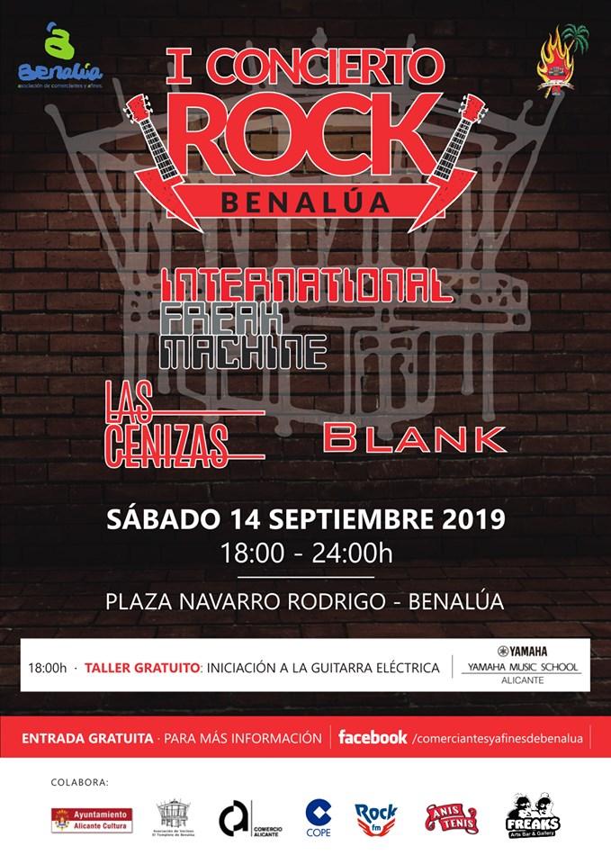 I Benalúa Rock, la música sale a las calles del emblemático barrio alicantino en MÚSICA