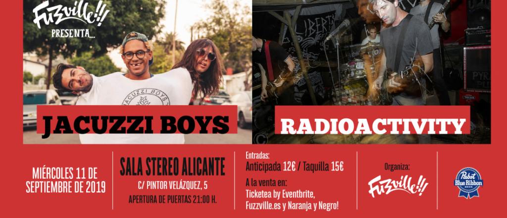 Fuzzville!!! prepara un otoño caliente con The Detroit Cobras, Les Lullies, Radioactivity, Jacuzzi Boys y Diamond Dogs en MÚSICA