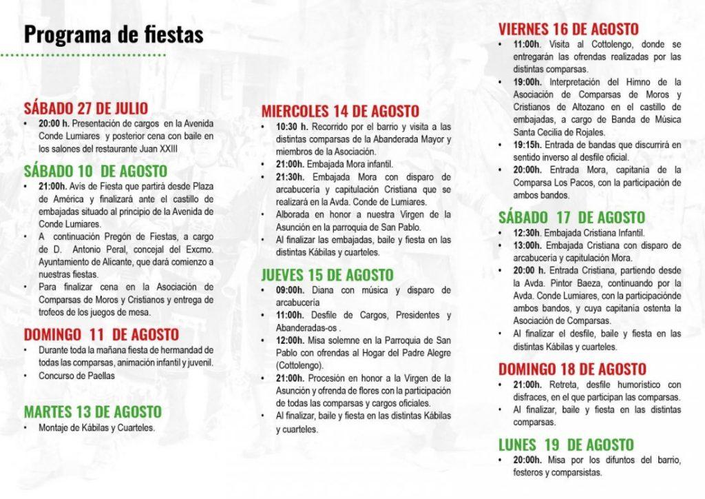 Antonio Peral pregonará las fiestas de Moros y Cristianos de Altozano en AIRE LIBRE