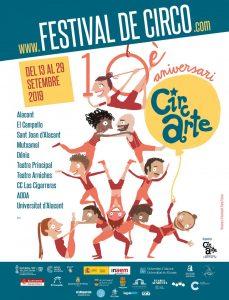 El Festival Circarte continúa este fin de semana con once propuestas circenses en ESCENA