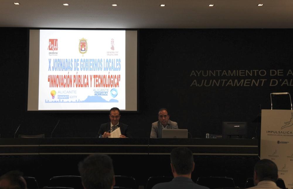 El edil de Innovación, Antonio Peral, anuncia la elaboración de la Agenda Alicante2030 en MEDIO AMBIENTE