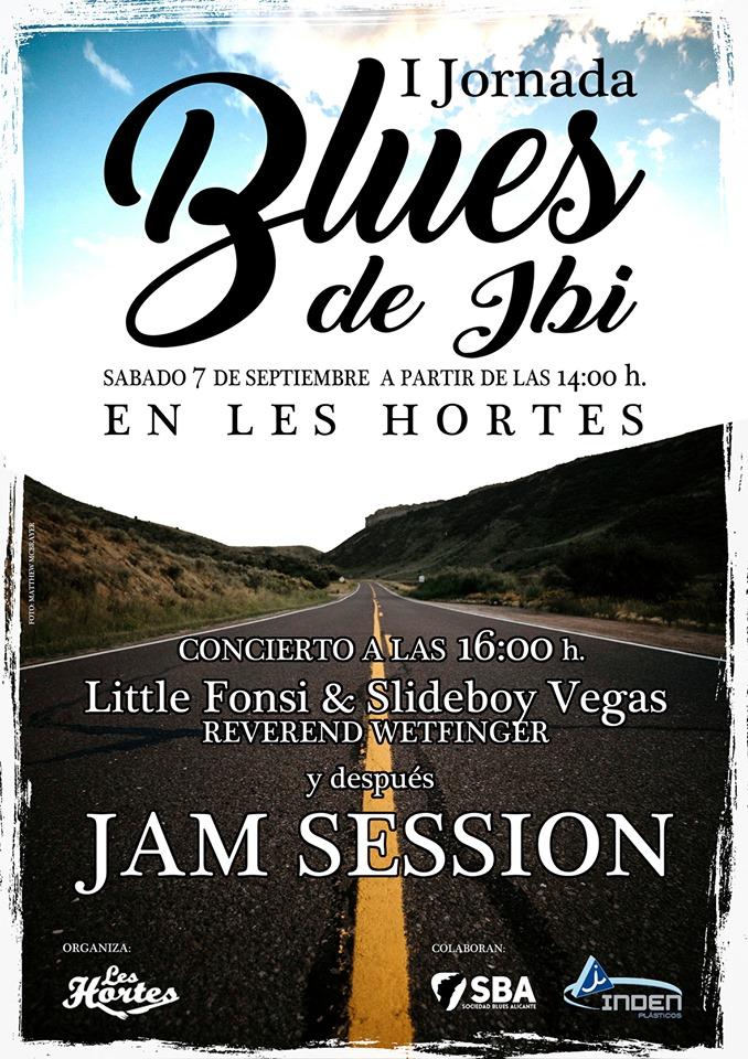 Ibi acoge la I Jornada de Blues con grandes bandas del género en MÚSICA