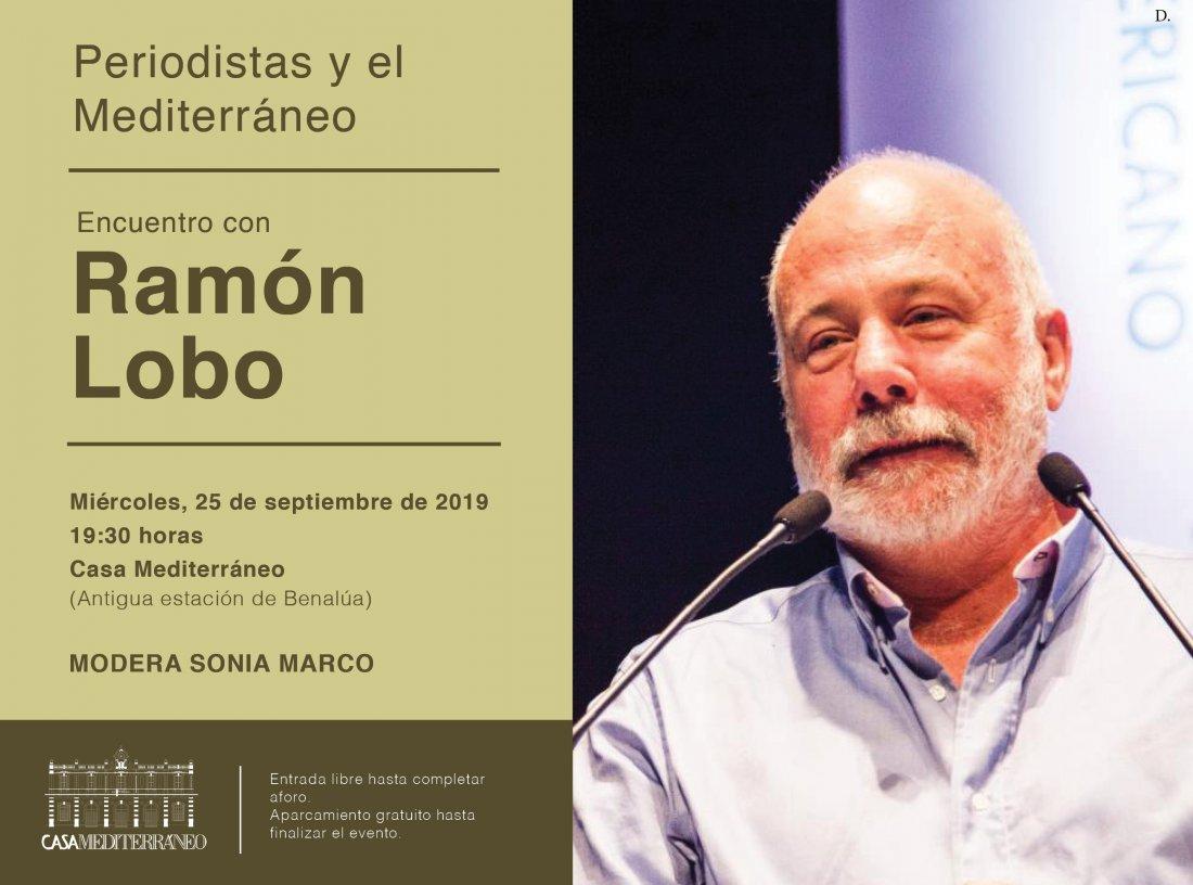 Ramón Lobo expone su experiencia como corresponsal de guerra en Casa Mediterráneo en CONFERENCIAS