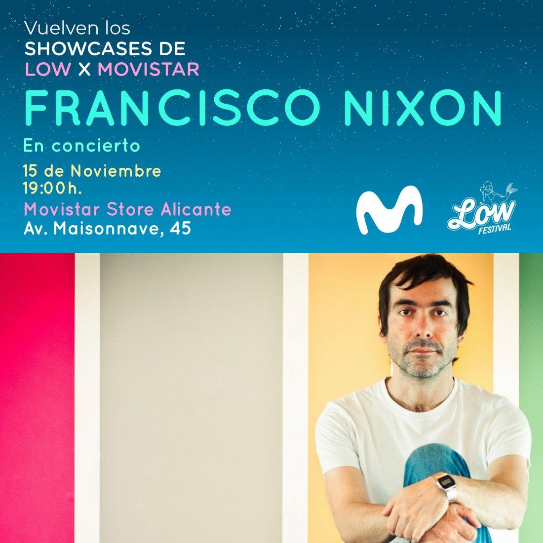 Francisco Nixon y Lois calientan el otoño en los Showcases de Low Festival x Movistar en MÚSICA